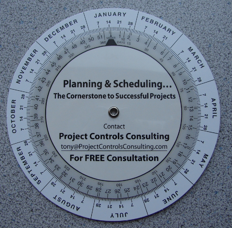 free schedule wheel  u2014 project controls  planning and